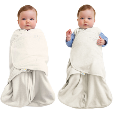Halo Innovations SleepSack Swaddle Micro-Fleece Cream