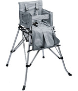 One2Stay Silver Portable High Chair