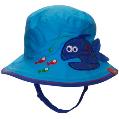 Calikids Reversible Hat Fish & Dino