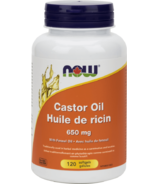 NOW Foods Castor Oil 650 mg