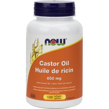 NOW Foods Castor Oil 650 mg