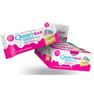 Buy Quest Nutrition Birthday Cake Protein Bars From Canada At Wellca