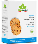 Bioitalia Organic Cookies with Chocolate