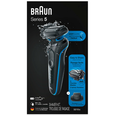 Braun Easy Clean Electric Razor for Men