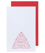 Now Designs Dishtowel Set Merry Little Christmas