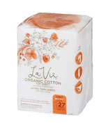 La Vie Organic Cotton Top Sheet Panty Liners Light Absorbency