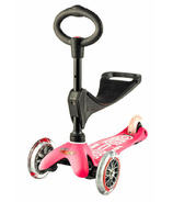 Micro of Switzerland Mini Micro 3-in-1 Deluxe Kickboard Pink