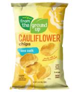 From the Ground up Cauliflower Potato Chips Sea Salt