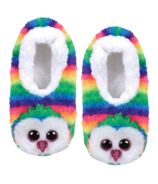 Ty Fashion Owen The Owl Slipper Socks