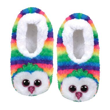 Ty Fashion Owen The Owl Slipper Socks