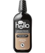 Hello Activated Charcoal Mouthwash