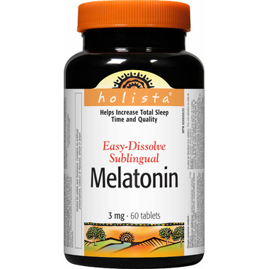 Holista Melatonin 3 mg Easy Dissolve Sublingual