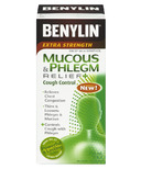 Benylin Extra Strength Mucus & Phlegm + Cough Control Syrup