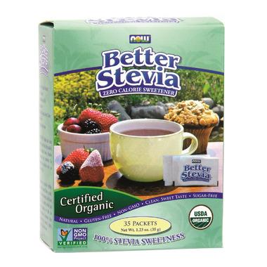 NOW Better Stevia Organic Packets
