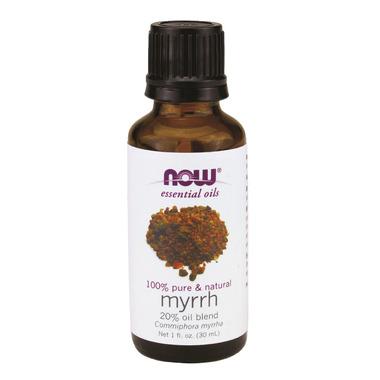 NOW Essential Oils Myrrh Oil Blend