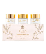 Pura Botanicals Overnight Mask Trio