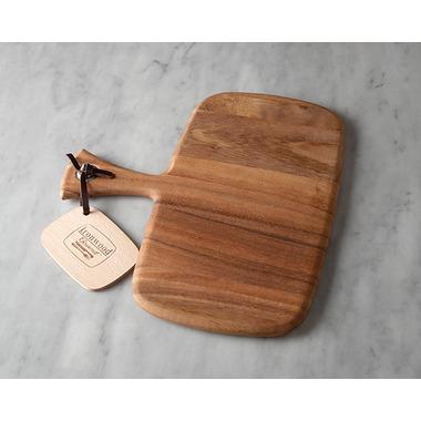 Ironwood Gourmet Small Rectangular Acacia Wood Paddle Board