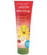 Jason Natural Kids Only ! Dentifrice à la fraise