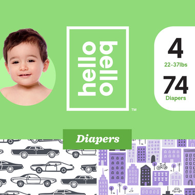 Hello Bello Club Diaper Cars & City Prints