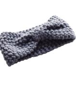 Mini Bretzel Warm Headband Grey