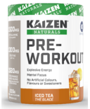 Kaizen Naturals Pre-Workout Iced Tea