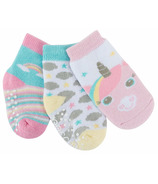 ZOOCCHINI Buddy Baby Sock Set Allie Alicorn