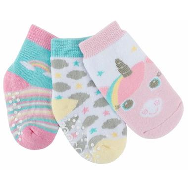 ZOOCCHINI Buddy Baby Sock Set Allie Alicorn