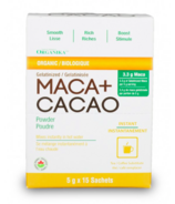 Organika Gelatinized Maca + Cacao Powder Sachets