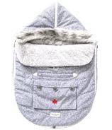 Juddlies Car Seat & Stroller Bag Salt & Pepper Grey