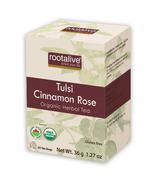 Rootalive Organic Tulsi Cinnamon Rose Tea