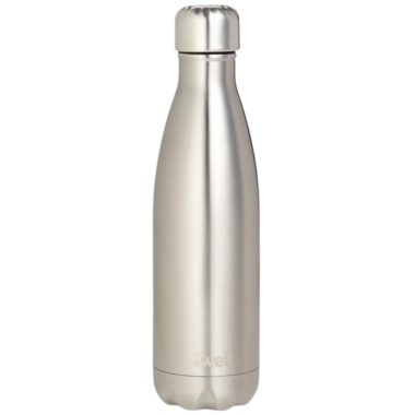 S\'well Shimmer Collection Stainless Steel Water Bottle Silver Lining