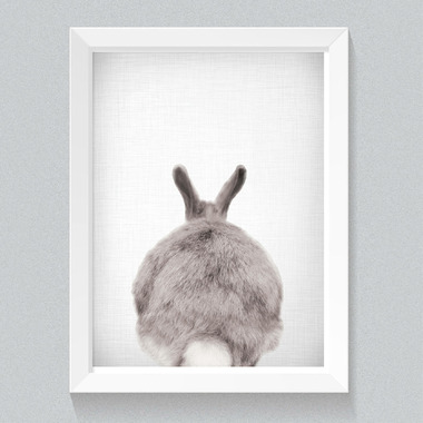 mavisBLUE Lil Darlings Bunny Bum 11x14