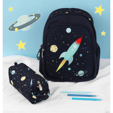 A Little Lovely Company Kid\'s Backpack Space