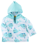 ZOOCCHINI Baby Terry Swim Coverup Whale