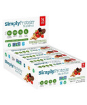 Simply Protein Nut & Fruit Bar Dark Chocolate Peanut Butter Strawberry Case