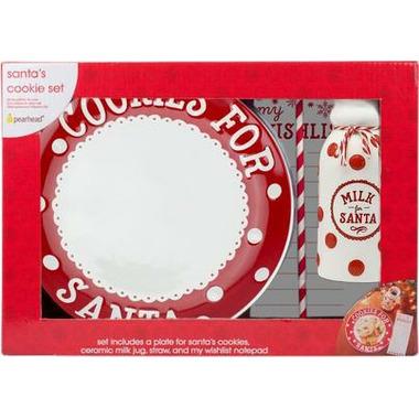 Pearhead Santa\'s Cookie Set