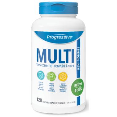 Progressive MultiVitamins For Active Men