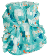 AppleCheeks One Size Cloth Diaper Cover Llama Nation