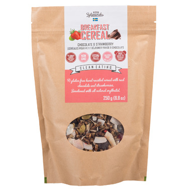 KZ Clean Eating Breakfast Cereal Chocolate and Strawberry
