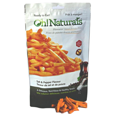 Oh! Naturals Salt and Pepper Sweet Potato Fries