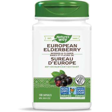 Nature\'s Way European Elderberry Berries & Flowers