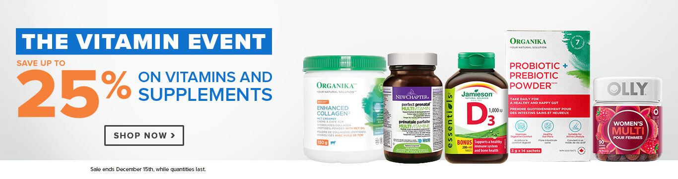 Save up to 25% on The Vitamin Event