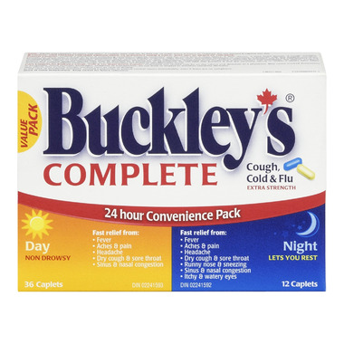 Buckley\'s Complete Extra Strength Day + Night Value Pack