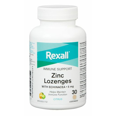 Rexall Zinc Lozenges Chewable Citrus