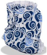 AppleCheeks Diaper Cover Out of the Blue