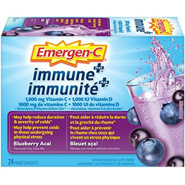 Emergen-C ImmunePlus Blueberry Acai