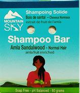 Mountain Sky Amla Sandalwood Shampoo Bar