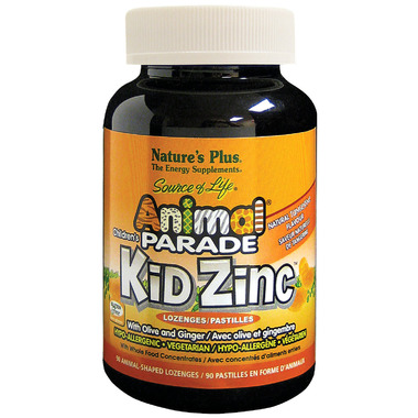Nature\'s Plus Animal Parade Kid Zinc Tangerine Lozenges