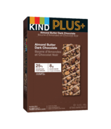 KIND Plus+ Almond Butter Dark Chocolate Bars