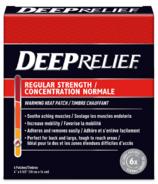 Deep Relief Ultra-Strength Warming Heat Patch